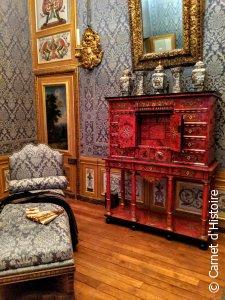 Cabinet dans les appartements de Madame Fouquet