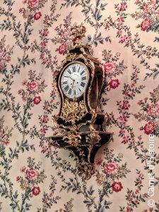 Horloge des appartements de Madame Fouquet