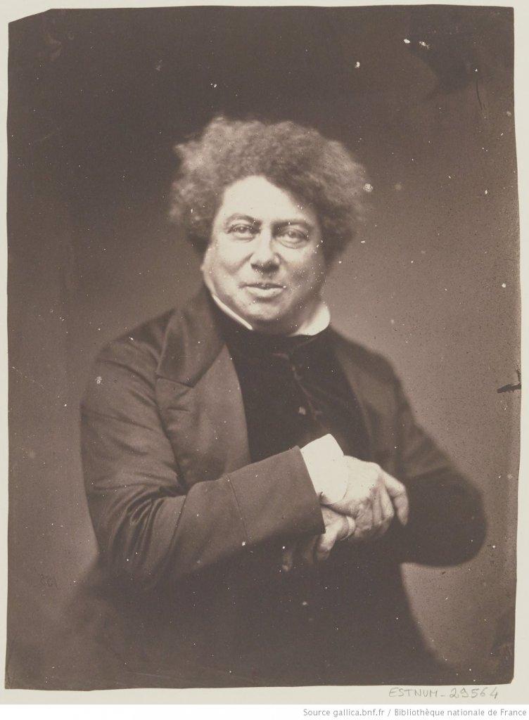 Portait d'Alexandre Dumas père