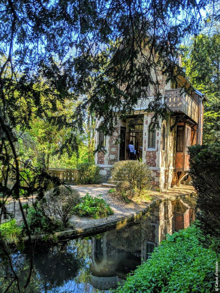 Château d'If vu des jardins à l'anglaise
