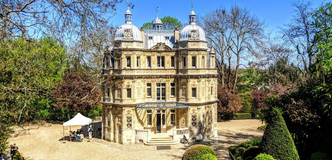 Façade du château vue du Château d'If