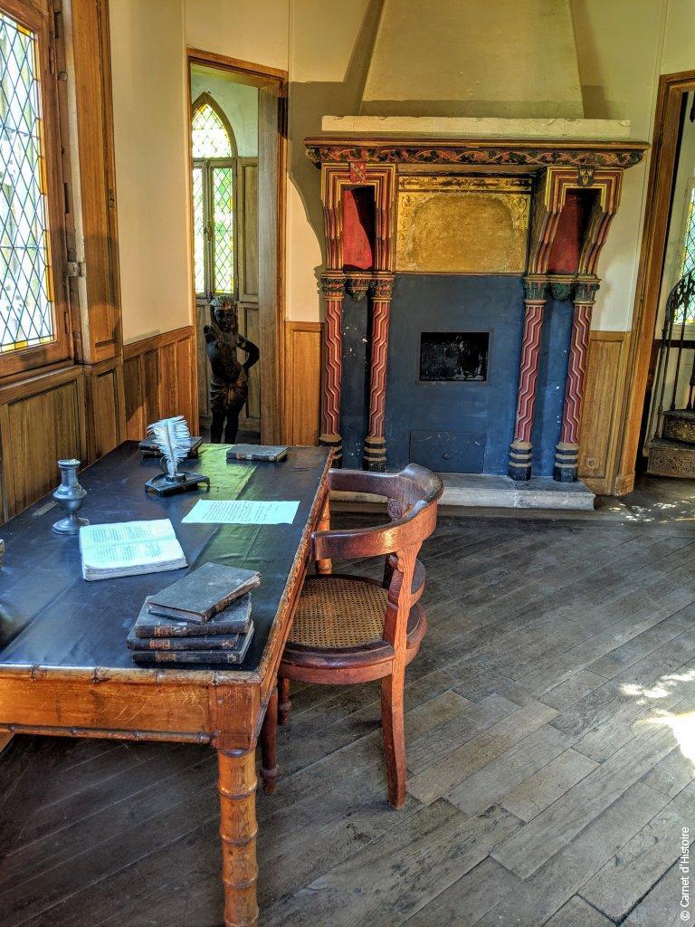Cabinet de travail d'Alexandre Dumas