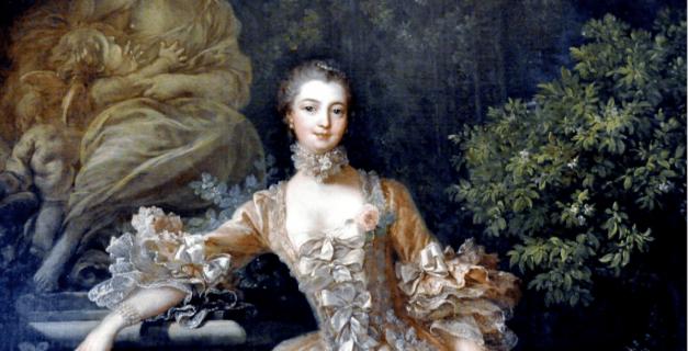 Peinture Francois Bouche - Madame de Pompadour