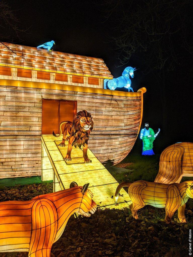 Arche de Noé des Lumières Sauvages de Thoiry