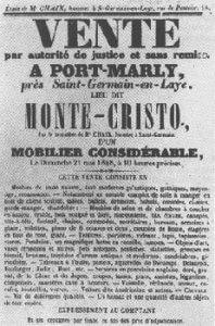 Affiche de la vente du Château