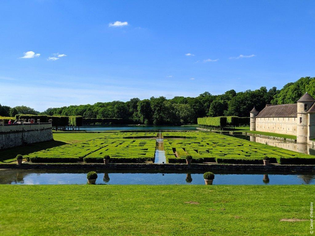 Les jardins du Domaine de Villarceaux