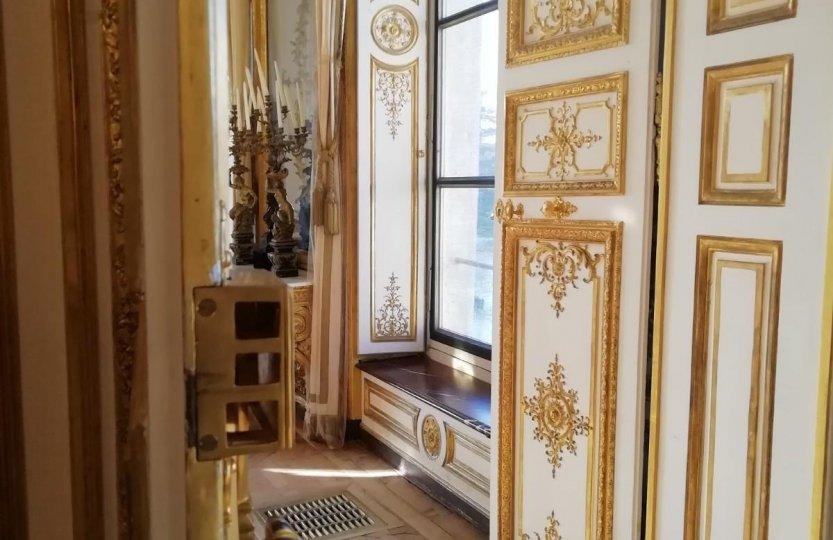 Intérieur des appartements du Château