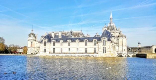 Vue sur le Château de Chantilly