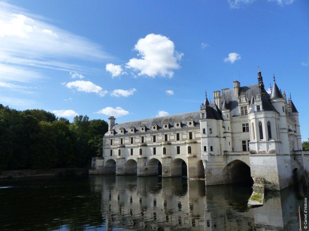 Architecture du Château de Chenonceau en Touraine