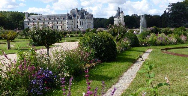 Vue sur le Château de Chenonceau en Touraine