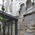 Vue sur la Tour Saint Antoine du restaurant Le Prosper