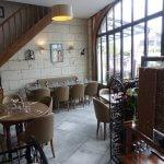 Intérieur du restaurant le Prosper à Loches