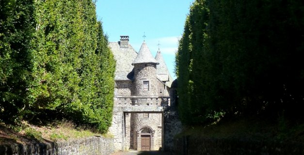Les plus beaux châteaux d'Auvergne : Château de Cordès
