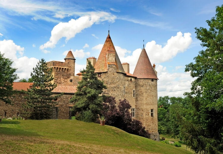 Château de Lespinasse en Auvergne