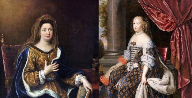 portraits des épouses de Louis XIV