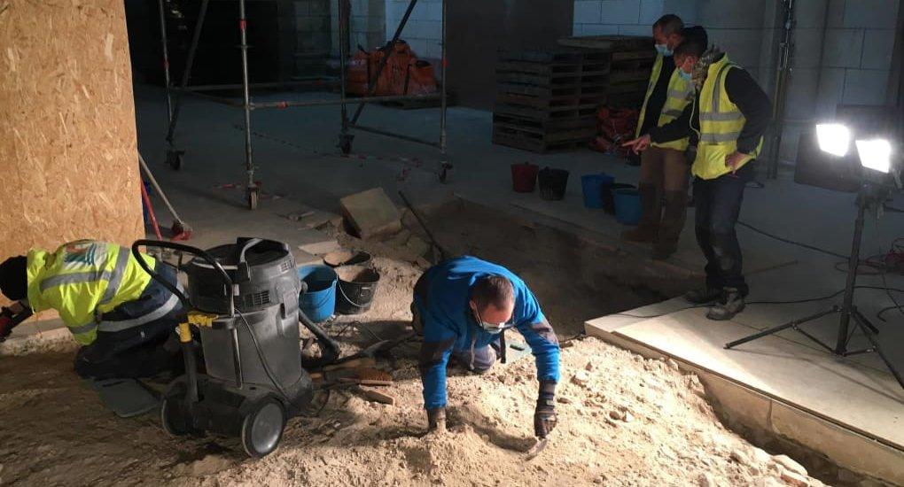 Fouilles archéologiques pour retrouver Ludovic Sforza