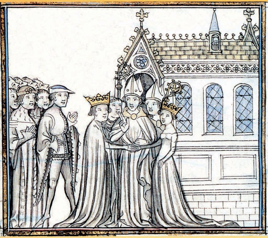 Mariage d'Aliénor d'Aquitaine et Louis VII