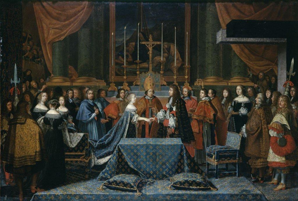 Mariage de Marie Thérèse d'Autriche et Louis XIV