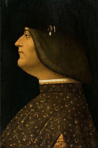 Portrait de Ludovic Sforza
