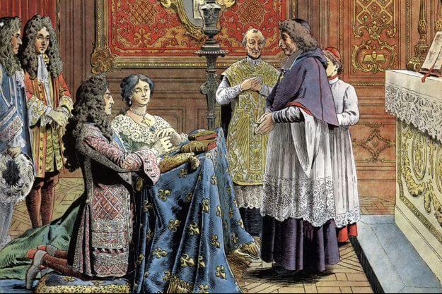 Mariage secret entre Madame de Maintenon et Louis XIV