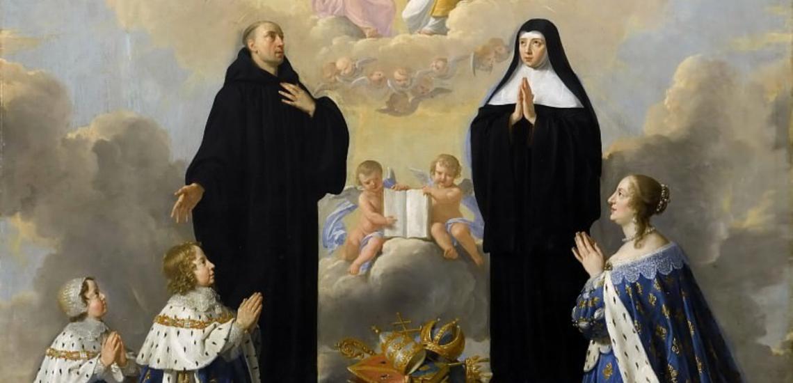 Anne d'Autriche et ses enfants, Louis XIV et Philippe