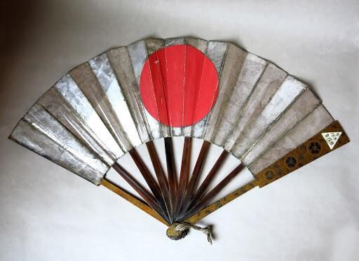 Eventail de guerre japonais