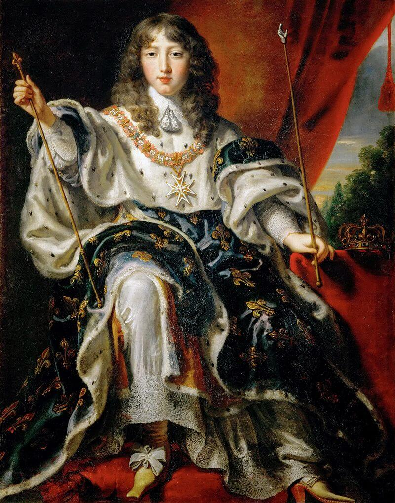 Louis XIV adolescent