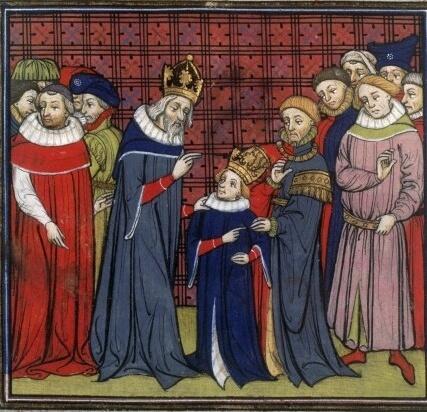 Louis Le Pieu et son père Charlemagne