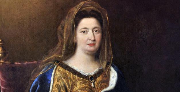 Portrait de Madame de Maintenon, épouse de Louis XIV