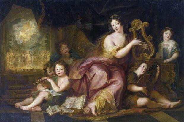 Madame de Maintenon gouvernante des bâtards de Louis XIV