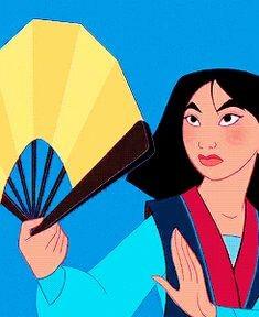 Dessin animé Mulan