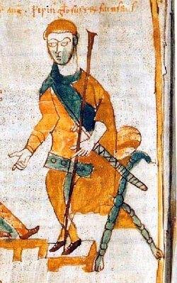 Pépin Le Bossu fils de Charlemagne