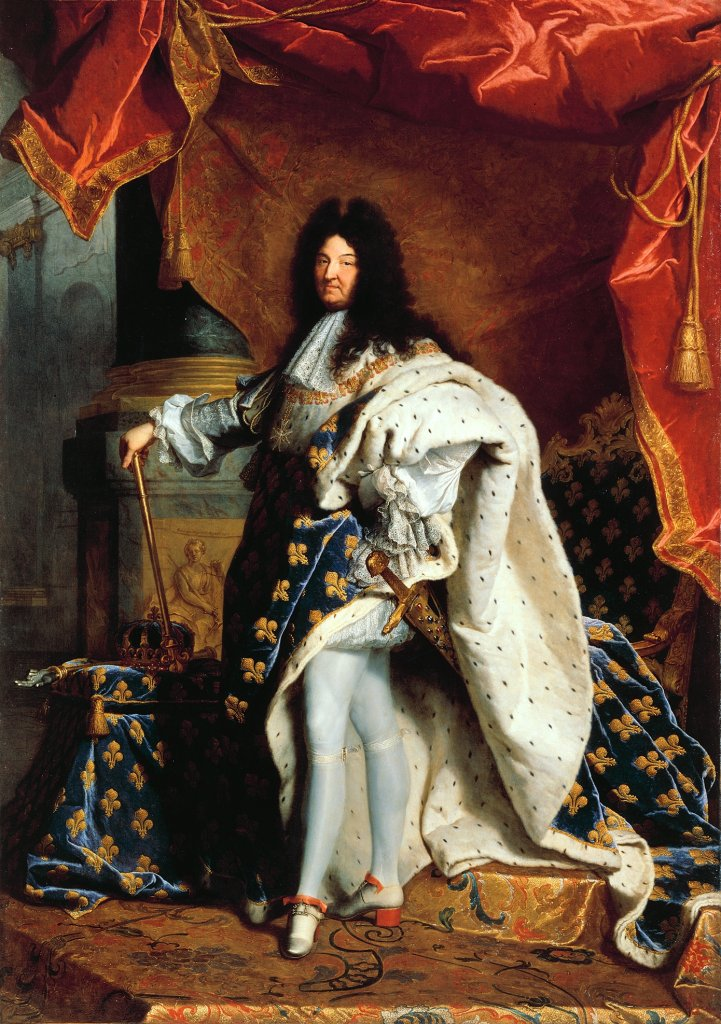 Portrait officiel de Louis XIV par Hyacinthe Rigaud