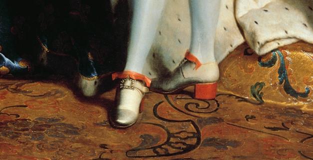 La mode des talons rouges sous Louis XIV