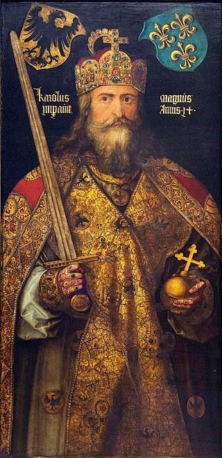 Portrait du Roi Charlemagne