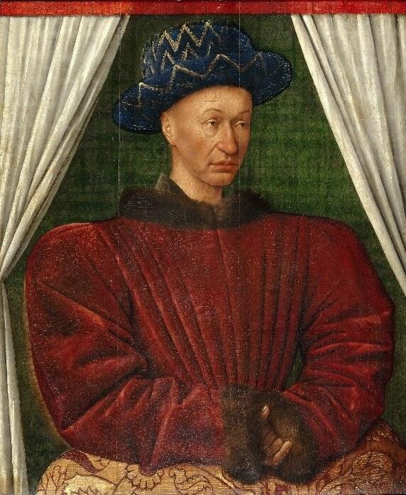 Peinture du Roi Charles VII