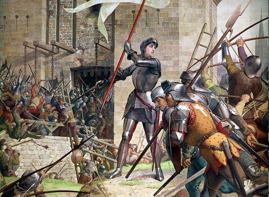 Jeanne d'Arc pendant le siège d'Orléans