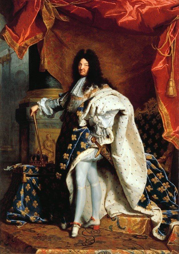 Portrait officiel de Louis XIV