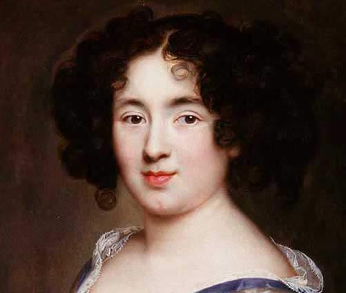 Portrait de Marie Mancini, maîtresse de Louis XIV