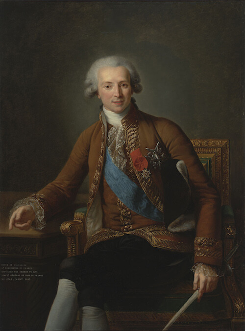Comte de Vaudreuil - Elisabeth Vigée Le Brun - 1784- Virginia Museum of Fine Arts