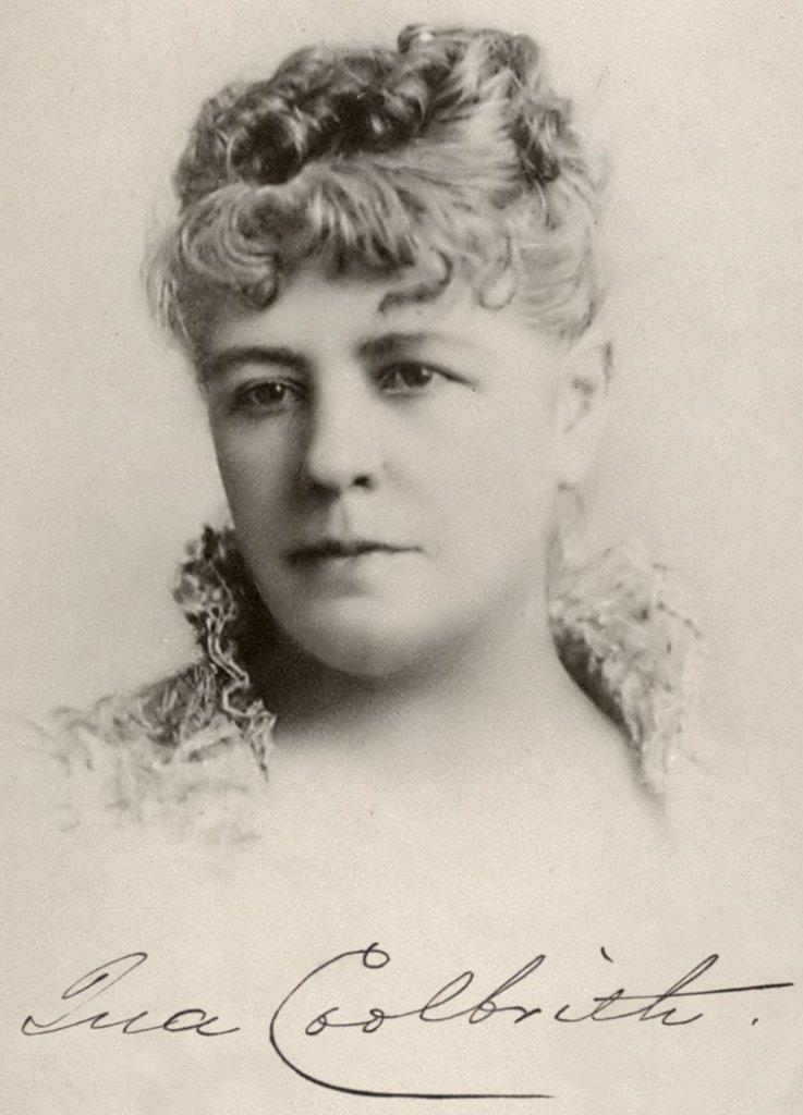 Portrait d'Ina Coolbrith