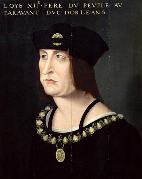 Portrait du Roi de France Louis XII