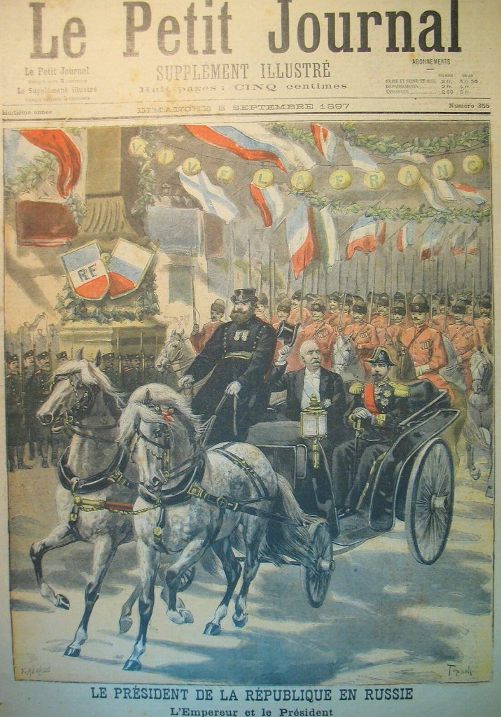 Felix Faure à Peterhof