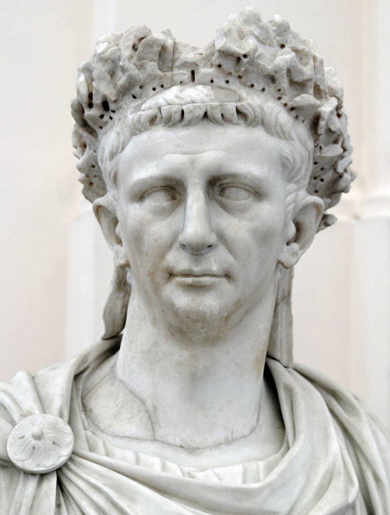 Buste de l'Empereur Claude