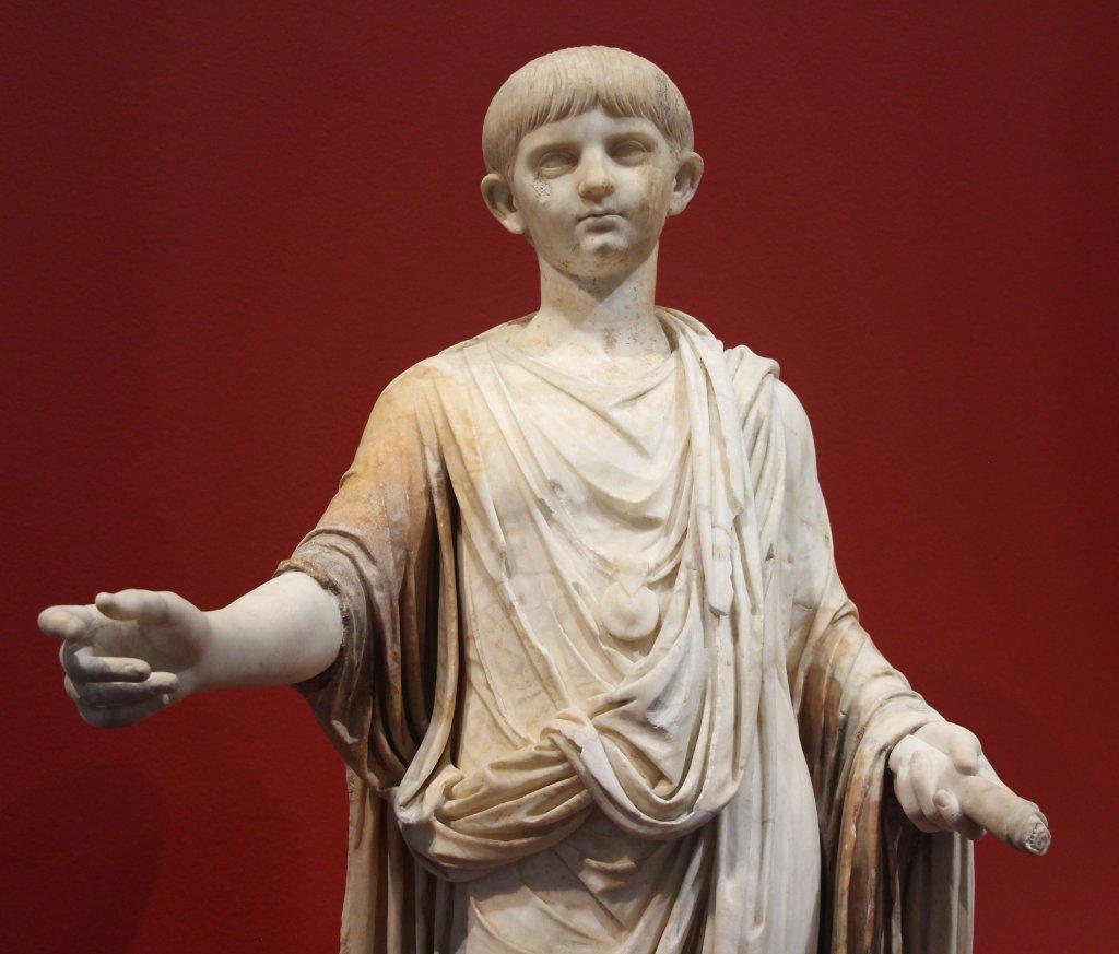 Buste de Néron, fils d'Agrippine La Jeune