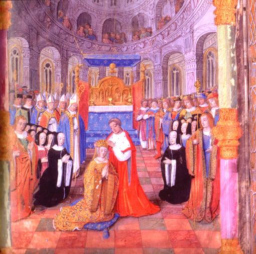 Couronnement de la Duchesse de Bretagne
