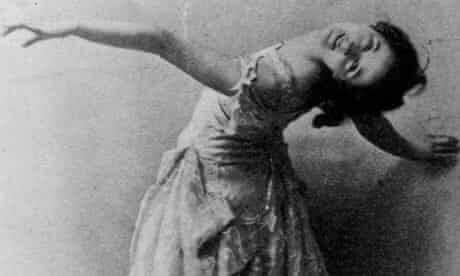 La danseuse Isadora Duncan