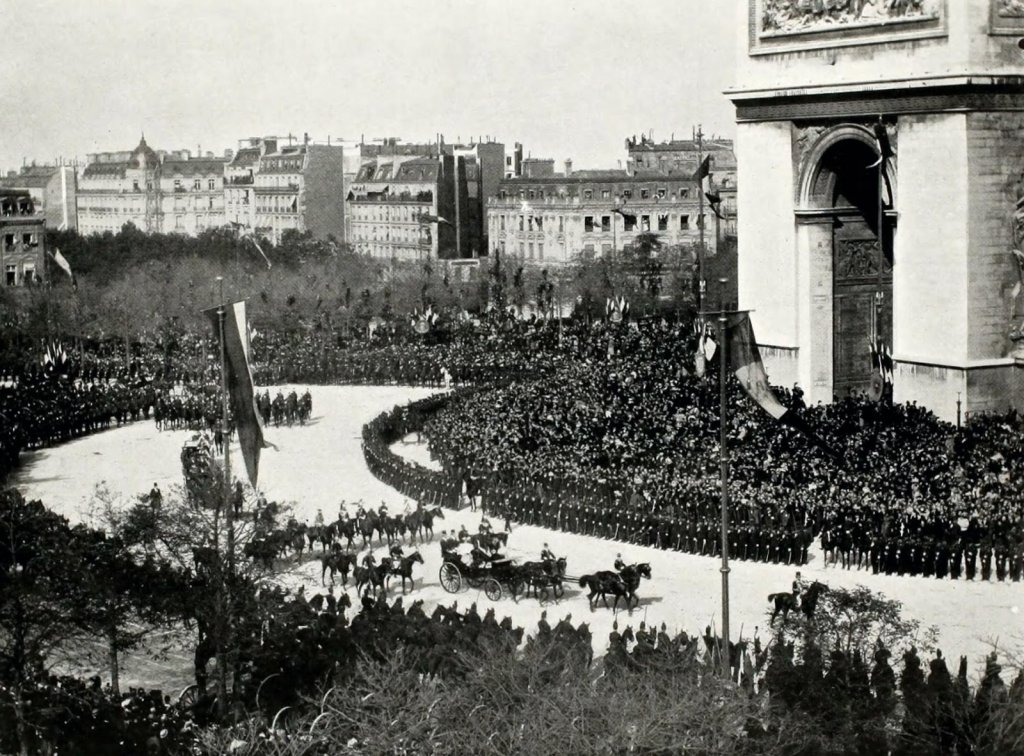 Entrée de Nicolas II à Paris
