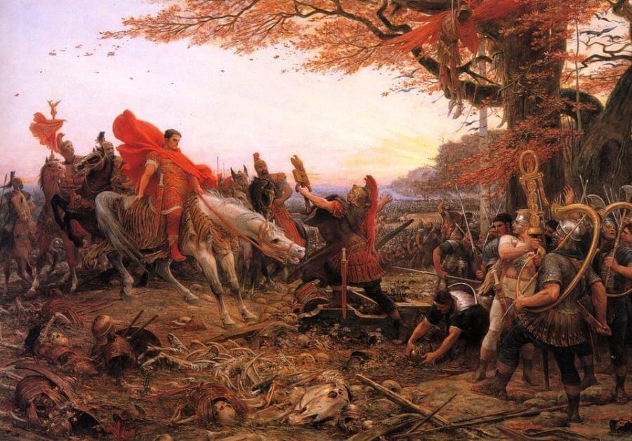 Général Germanicus père d'Agrippine La Jeune