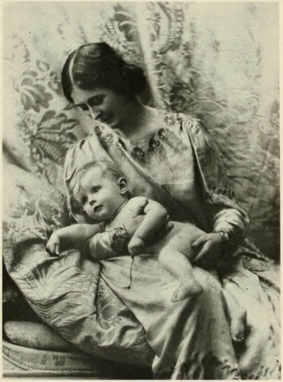 Isadora Duncan et ses enfants